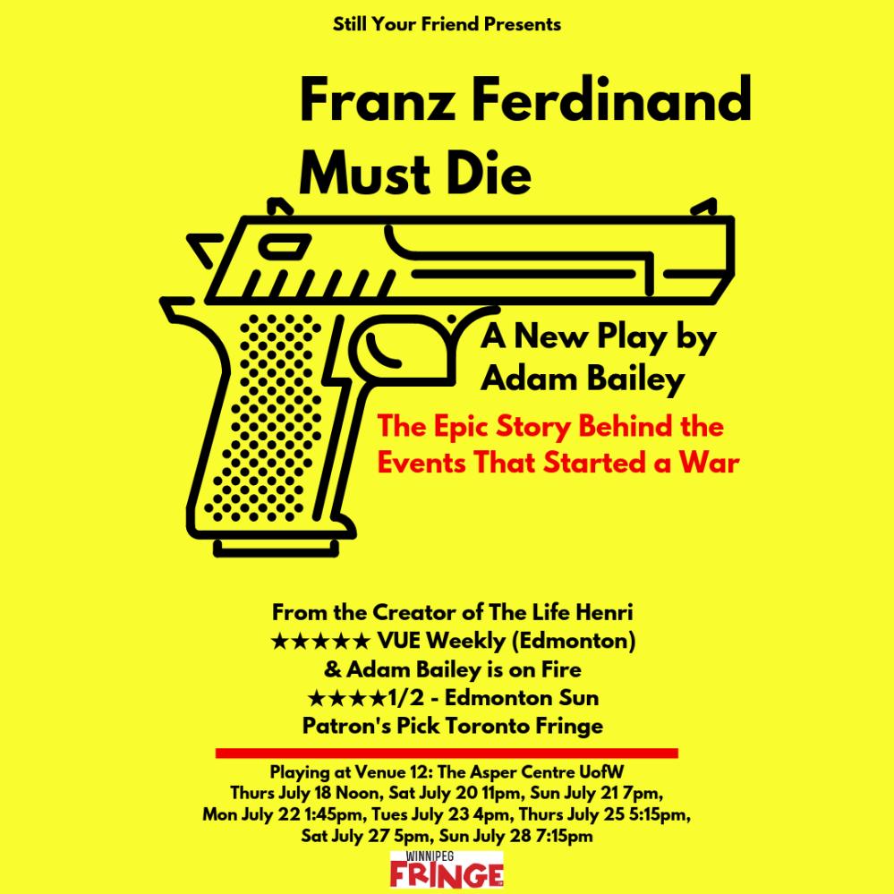 Franz F Must Die Instagram Poster